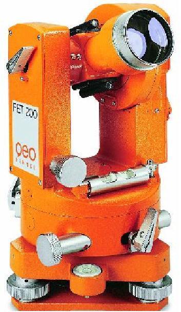 FET-200 Bau und Ingenieutheodolit