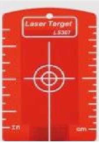 Magnetische Zieltafel, rot