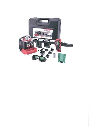 Roteo 35G Paket im Koffer grüner Laserstrahl