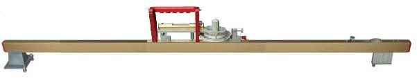 Kombi-Messgerät für Spurweite und Überhöhung