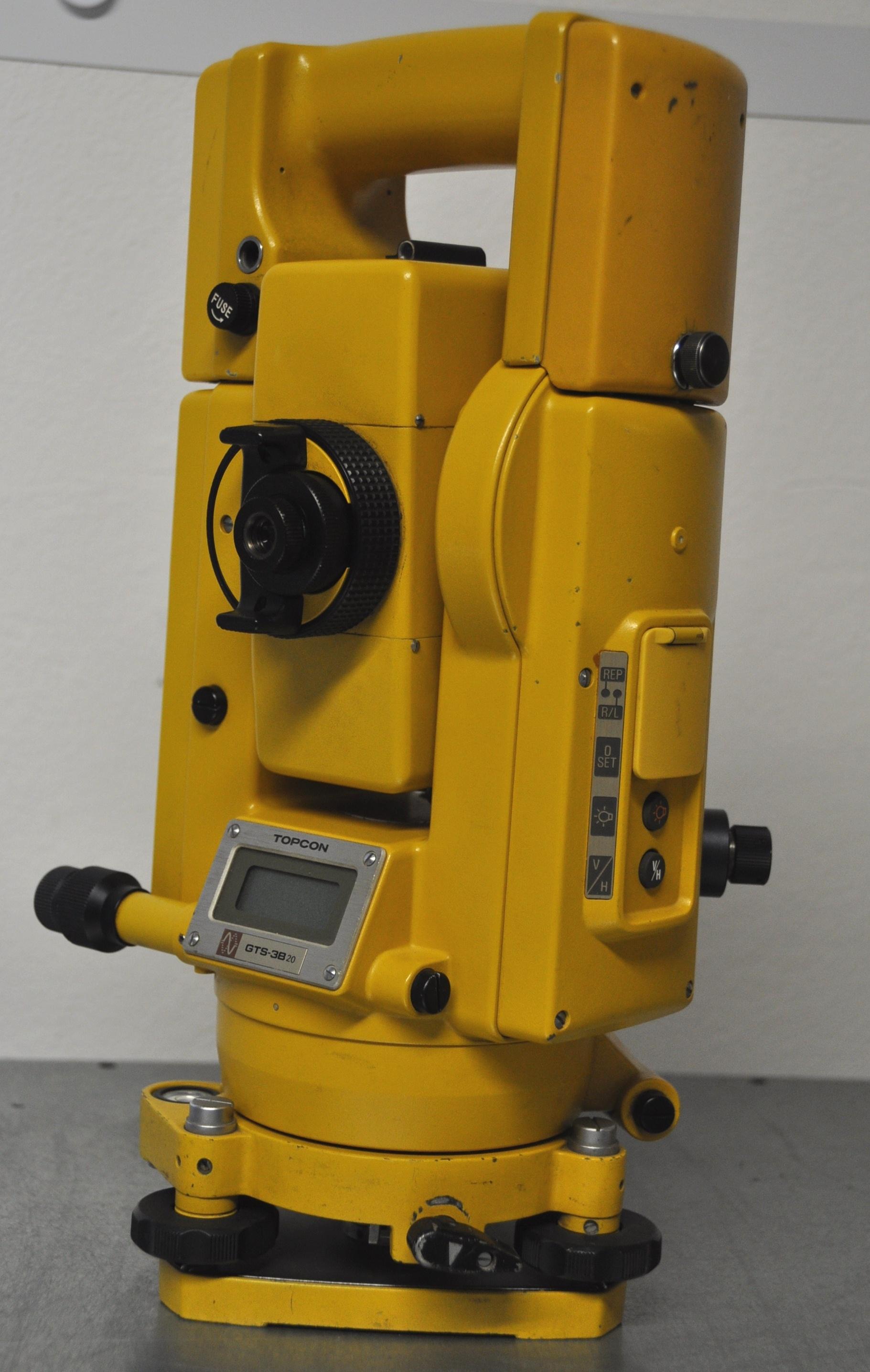 GTS-3B 20 mit:2x neuen Akkus im Koffer mit Certificate of calibration valid for 12 months
